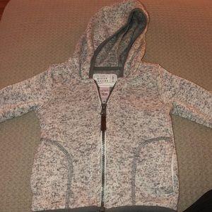 Carters zip up hoodie size 12M